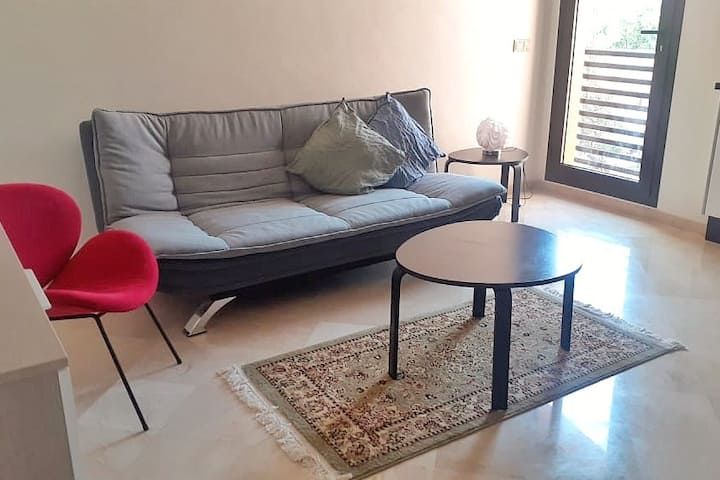 Rooftop POOL Modern 1BR Wifi in Central Marrakech