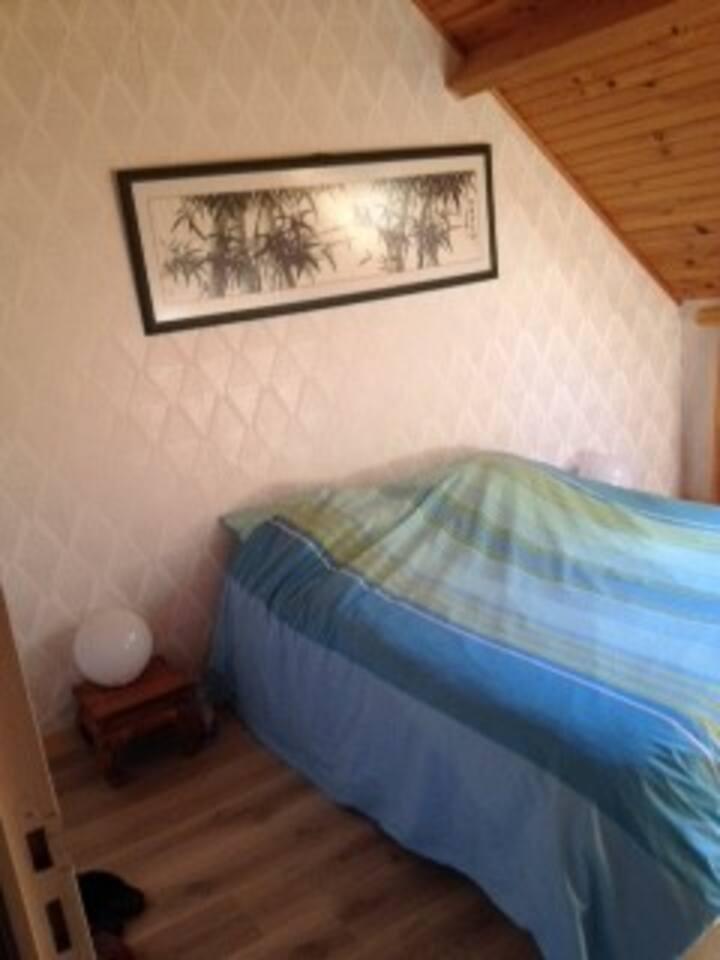 Chambres privées dans maison familiale en campagne