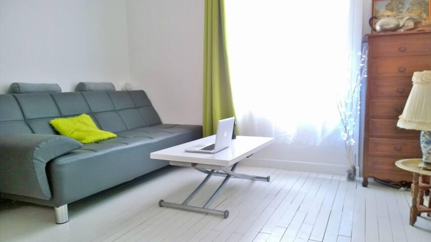 Chambre dans appartement tranquille