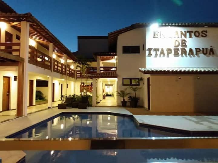 Hotel Encantos Itaperapua Porto Seguro BA