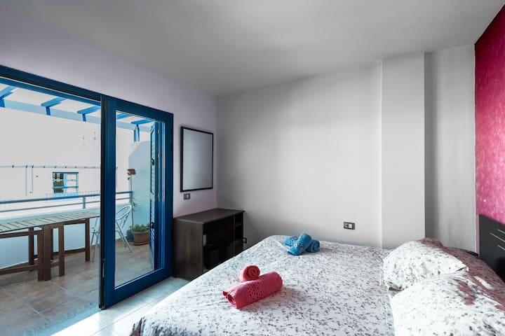 Modern beach house in Famara