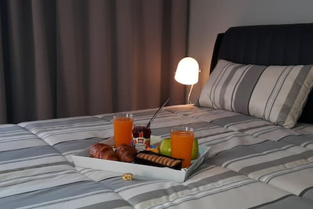 Apartment Kolovraty new & luxury equiped & parking - Praga - Pis