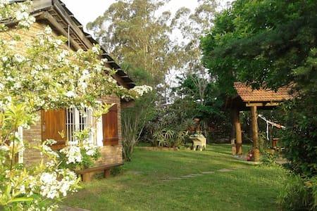 Casa Amarita, cabaña Vistamar con barbacoa/quincho - Araminda - Bungalow
