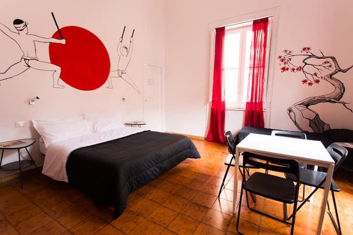 A casa di Amici - Ensuite Double Room