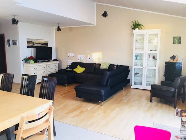 Family House with 4 bedrooms, sleeps 9 people