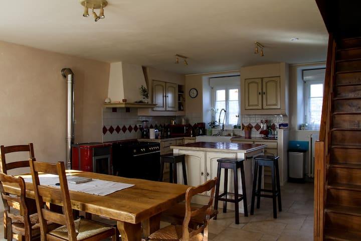 Maison de campagne  bocage normand - Saint-Jean-le-Blanc - Rumah