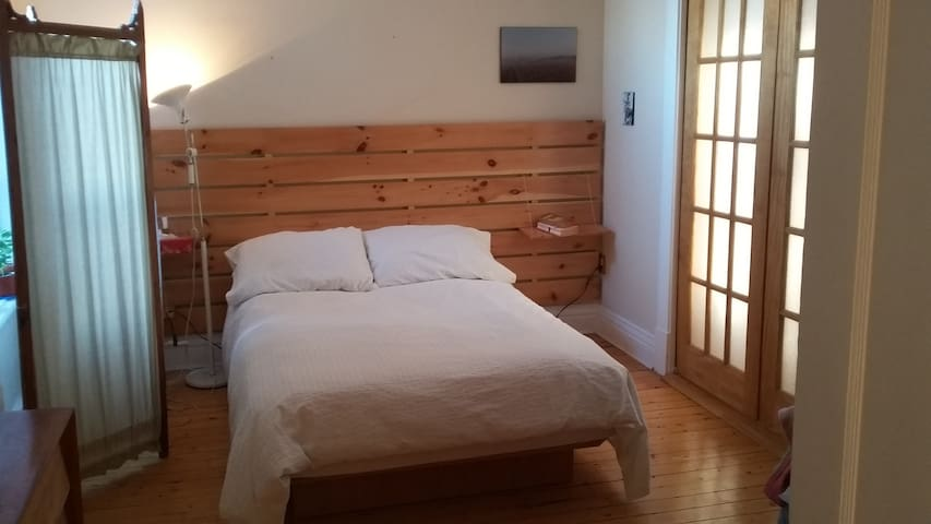 Single or double room with plants - Trois-Rivières - Huoneisto