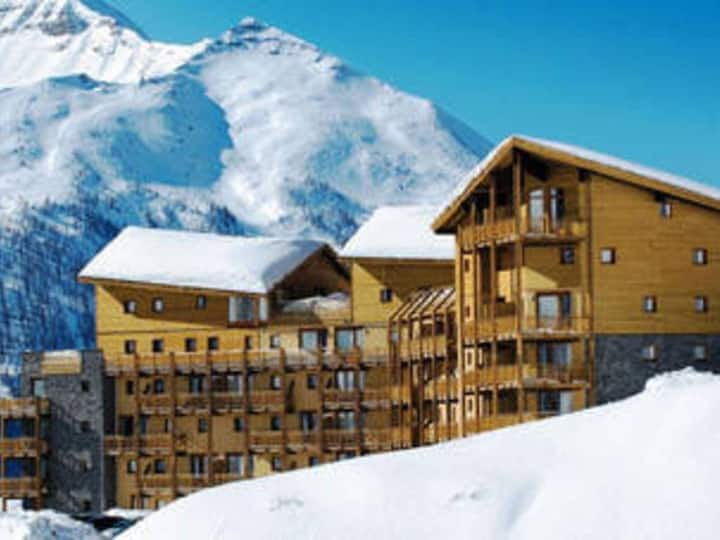 Appt303. 100m pistes. T3. Parking couvert. WIFI