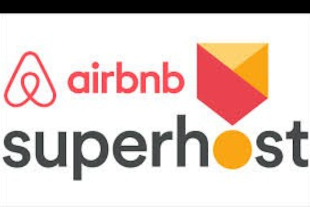 My Airbnb Superhost Badge!