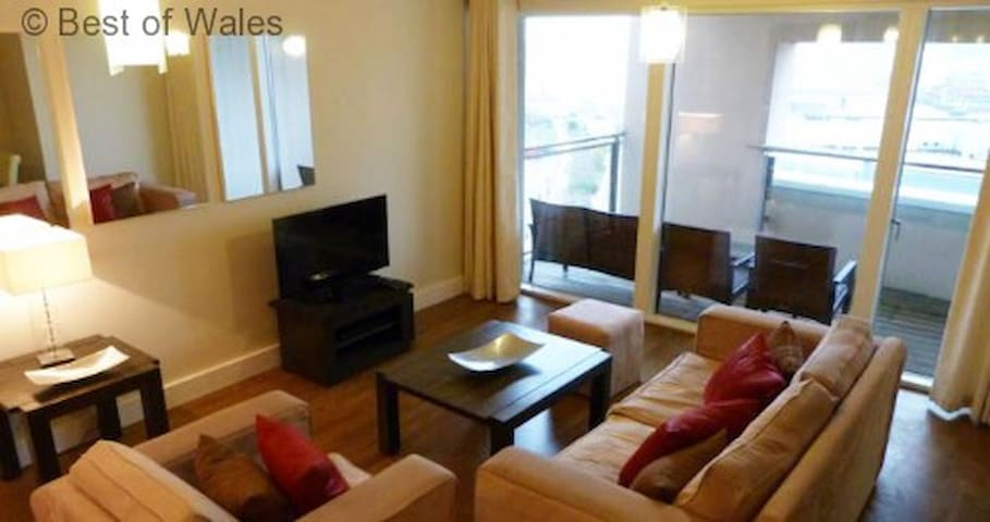 Cardiff Waterside Apartment - Cardiff