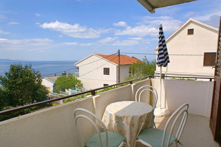 Two bedroom apartment with terrace and sea view Podaca, Makarska (A-2621-a)