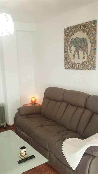 sofá cómodo / comfy sofa