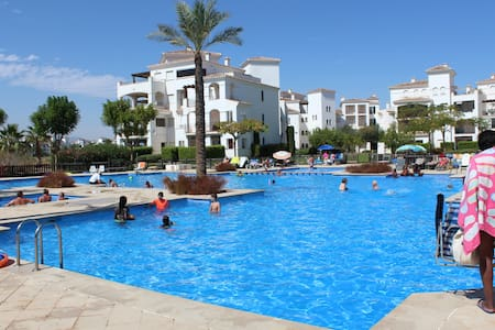 Fabulous 2 bed apartment with pool view - Torre-Pacheco - Apartmen