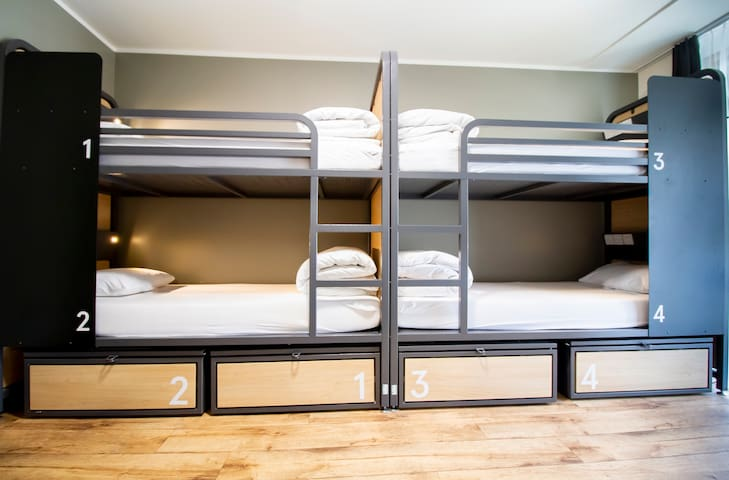 Generator - Bed in 8 Bed Dorm with Shared Bathroom