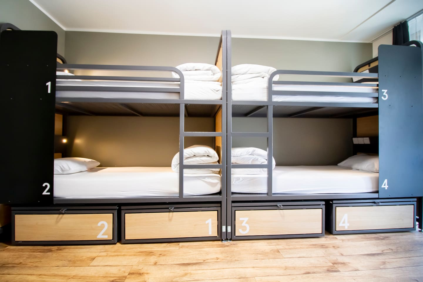 Bed in 8 Bed Dorm with Shared Bathroom