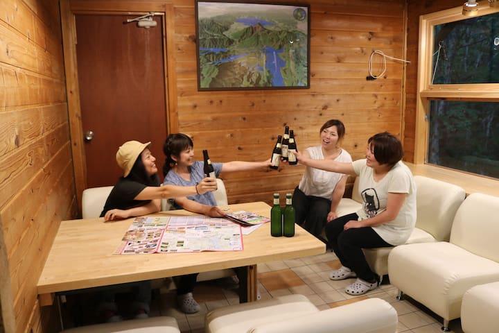 Guesthouse En 201男性ドミトリー(ゲストハウスえん)
