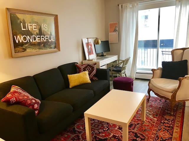 Modern + Cozy Studio in the Byward Market - Ottawa - Wohnung