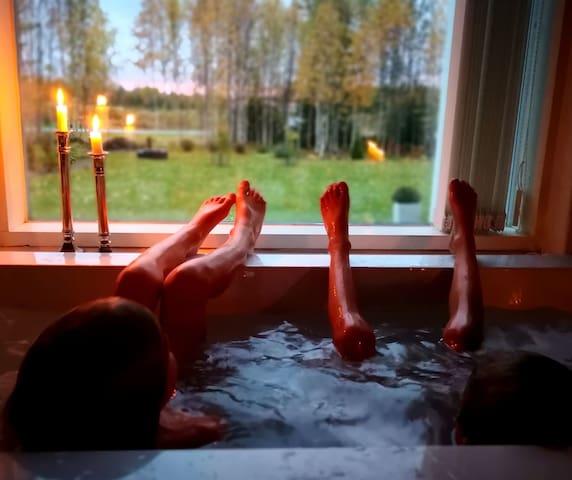 Artic Villa Luxury, service 24/7 English & Finnish