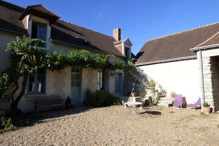 B&B 2 pers calme et authentique - Athée-sur-Cher - Casa de huéspedes