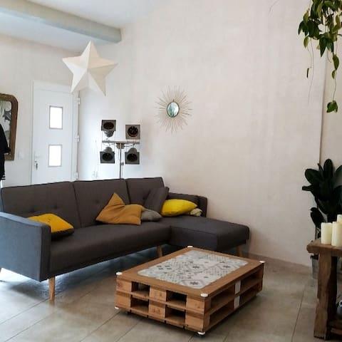 Appartement 70m2 proche Montpellier et plages