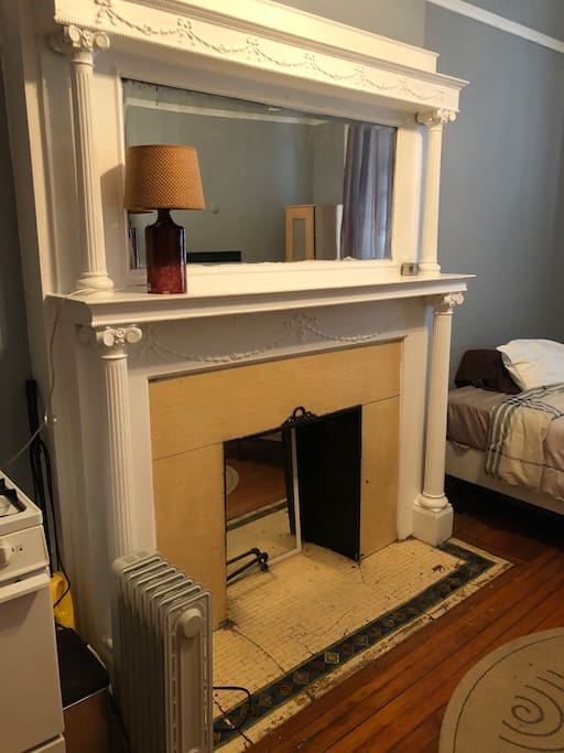 None working fireplace