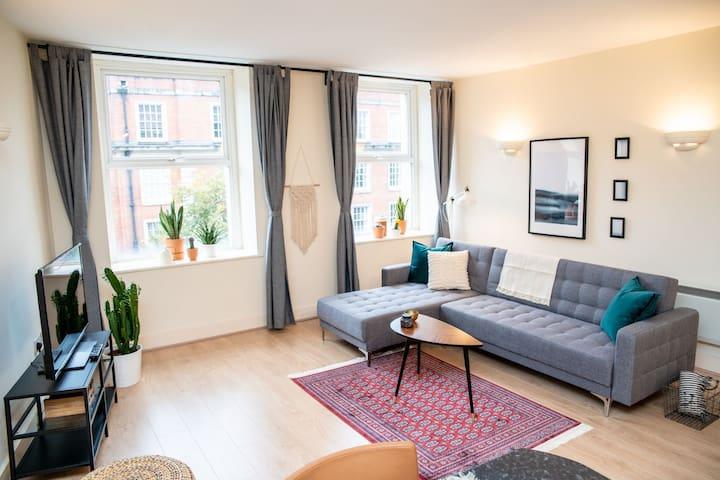Spacious apartment opposite Principality stadium