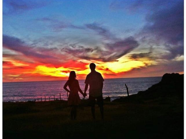 Enjoy the Cerritos sunset with the one you love.