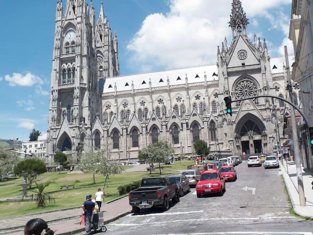 AL PIE DE LA BASILICA - Quito - Apartment