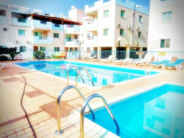 ★ Comfy 1BD Apt ★ near to the beach ▶Free Wi-Fi