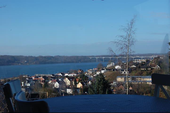 View of Vejle Fjord - Vejle - Hus