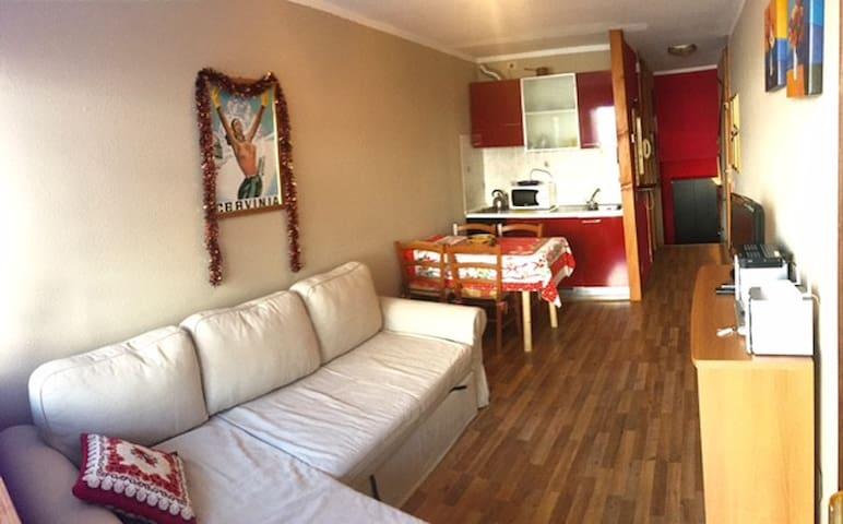 Studio Cieloalto,Cervinia - Breuil-Cervinia - Apartamento