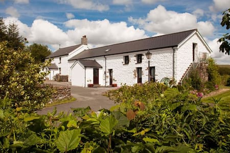 Beili Helyg B&B, a farmhouse in the Brecon Beacons - Penderyn
