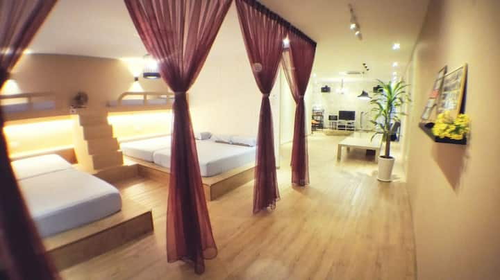 Open Concept Bococo Homestay Muar for 6-13 pax