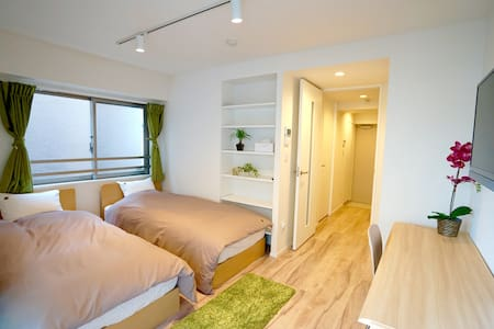 New Twin room in Tokyo: Skytree & Asakusa 301 - Apartment