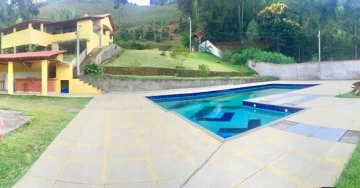 Sítio Vovó Amélia - Casa c/ Piscina em Santa Marta