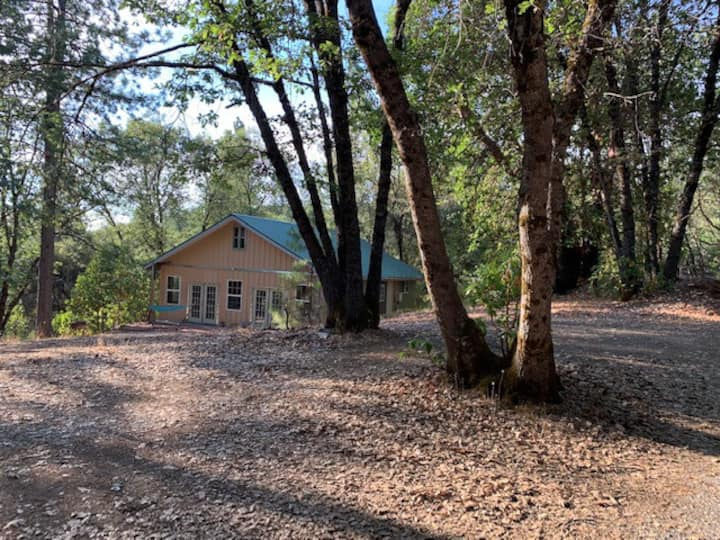 Modern Cabin on 10 Acres. Hiking Trail to Yuba.