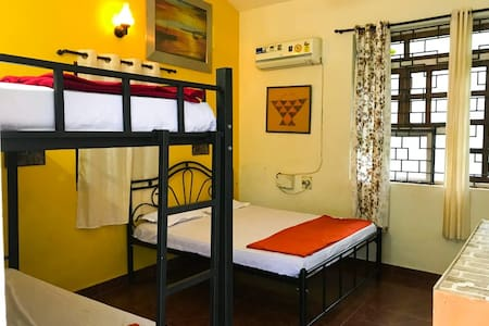 Single room in guesthouse ideal for 4 travellers