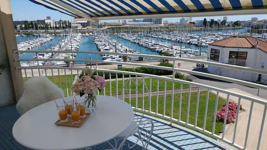 Appartement 50 m2 avec vue sur le port Olona