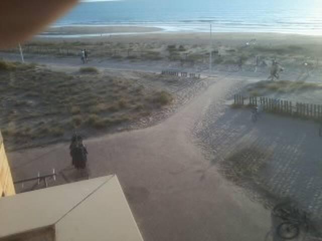 appartement  20 mètres  de l' océan