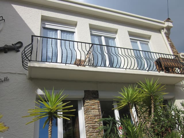 Nice appartement for 4 in house 50m from the sea - Argelès-sur-Mer - House