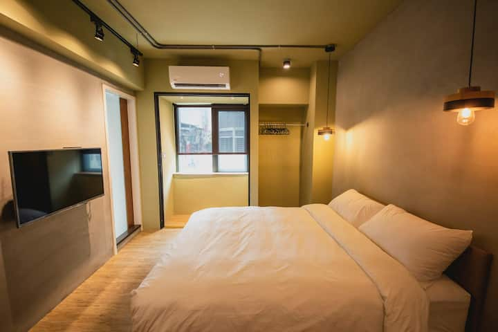 《YU-CHANG》Room 4 / Double  room