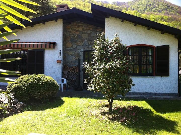 Ferienhaus Luganersee ebenerdig  mit Privatstrand