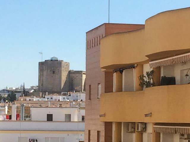 Vista del Castillo de Santiago