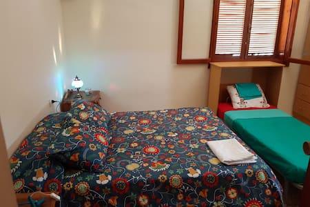Azohia, casa en la playa,habitacion doble y simple