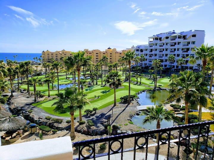 Sandy Beach Condo with Amazing Balcony View