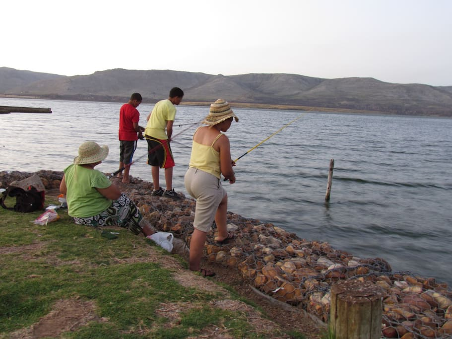 fishing popular weekend activity