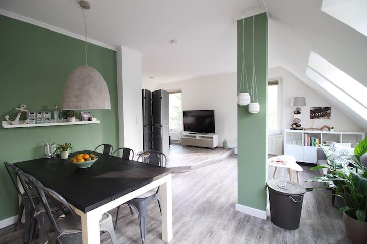 Schöne Wohnung mit Garten - idyllisch & Citynah