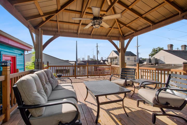 Mid City- Spectacular Roof Top Deck- Luxury Detail