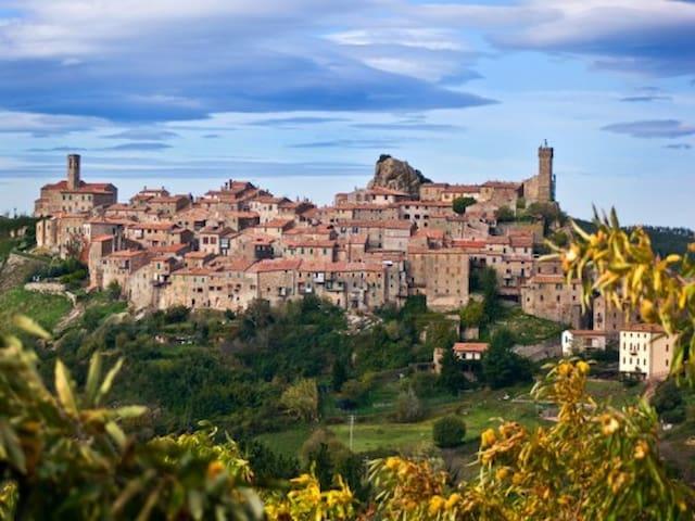 Bilocale vacanze nelle colline toscane - Roccastrada - Apartamento