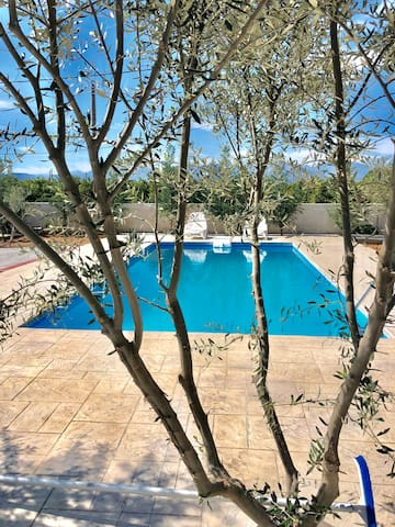 Luxury apartment with swimming pool in Nafplio